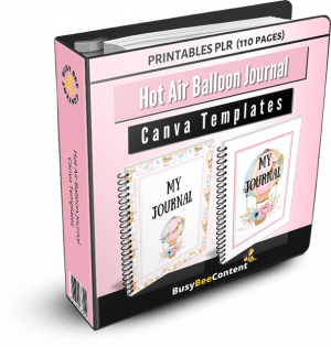 balloons journal 3d
