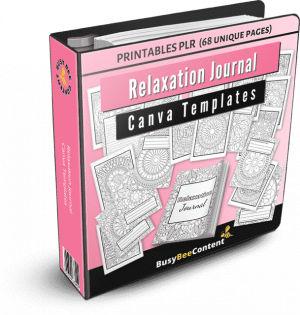 Relaxation Journal product